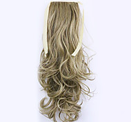 Borwn Length 50CM Factory Direct Sale Bind Type Curl Horsetail Hair Ponytail(Color 10/86)