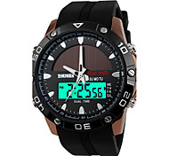 SKMEI Men's Sport Watch Digital Watch Quartz Digital Japanese QuartzLCD Calendar Water Resistant / Water Proof Dual Time Zones Alarm