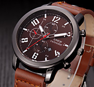 Men Casual Watch Quartz Hour Date Clock Men Sport Watches Men's Leather Military Wrist Watch Relogio Masculino