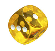 Royal St. Hit 18 Mm Color Round Resin Transparent Dice Games Environmental Protection Material 20 Grains/Package