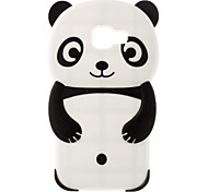 Cute Cartoon Panda Model Silicon Material Cover Case For Galaxy A5(2016)/Galaxy A3(2016) Mobile Phone Sets