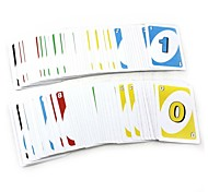 UNO Jenga Number Card Toy Board Game