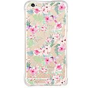 Para Funda iPhone 6 Diseños Funda Cubierta Trasera Funda Flor Suave TPU Apple iPhone 6s/6