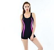 Others Women's Swimwear Quick Dry / Compression One Piece Adjustable Adjustable Black Black M / L / XL