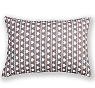 Knitted Love Heart Cushion Cover-Grey