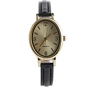 The New Elegant Oval Women's Fashion Watch