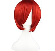 Parrucche Cosplay Vocaloid Akaito Rosso Corto Anime Parrucche Cosplay 35 CM Tessuno resistente a calore Uomo / Donna