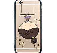 iPhone 6s Plus/6/iPhone 6s/6 TPU Little Girl Soft Back Cover