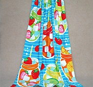 "Well Designed Cartoon Full Cotton Bath Towel 59"" by 29.5"""