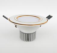 Downlight de LED 200-450 lm Branco Quente / Branco Frio / Branco Natural / Vermelho / Azul / Amarelo / Verde / Rosa LED de Alta Potência
