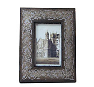 6*4*1 Solid Wood European/Americano Style Vintage Picture Frame