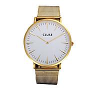 CLUSE Watch Montre Men's Hommes Alloy Strap Waterproof Quartz-Watch Women's Watches Wrist Watches