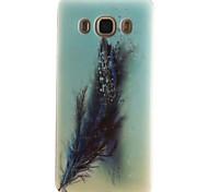 Feather Pattern TPU + IMD Phone Case for Galaxy J1/J1(2016)/J1 ACE/J5/J5(2016)/J7(2016)/G350/G355/G357/G360/G530