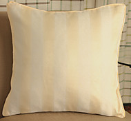 European Contemporary And Contracted Stripe Jacquard Cushion For Leaning On