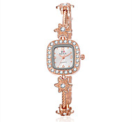 Montre Femme New Quartz Watch Women Ladies Fashion Wrist Watches Flower Bracelet Watch Wristwatch Clock Quartz Watch Cool Watches Unique Watches