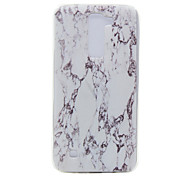 TPU Material Marble Pattern Slim Phone Case for LG G5/K7