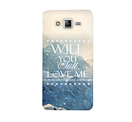 Samsung Silicone Protective Cover Painted Cartoon Package for Galaxy J5
