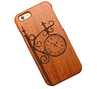 Pear Wood Vintage Wall Clock Hard Protective Back Cover iPhone Case for iPhone 6S Plus/iPhone 6 Plus/iPhone 6s/iPhone 6