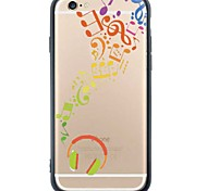 iPhone 6s Plus/6/iPhone 6s/6 Interesting TPU Soft Back Cover