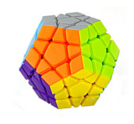 Yongjun® Smooth Speed Cube Megaminx Speed Magic Cube Rainbow ABS