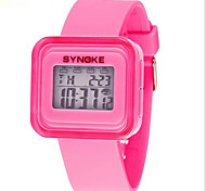 SYNOKE Kids' Sport Watch Wrist watch Digital Watch LCD Calendar Chronograph Water Resistant / Water Proof Alarm Luminous Digital Rubber
