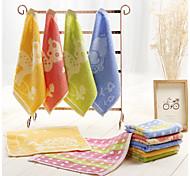 5pc Pack Random Color Cartoon Hand Towel 100% Cotton High Quality Super Soft
