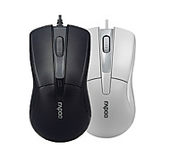 Orginal Rapoo N1162 Wired Mouse USB 2.0 Pro Gaming Mouse Optical Mice For Computer PC Office Black/White