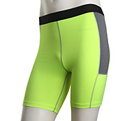 Running Shorts Men's Breathable / Quick Dry Running Sports White / Green / Red / Gray / Black / Blue