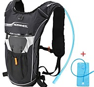 Fashion Multifunction Black Bike Cycling Backpacks with 2L Water Bag Climbing Camping Sports Straw Water Bag Backpack