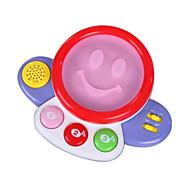 rot Kind Handtrommeln für alle Kinder Musikinstrumente Spielzeug
