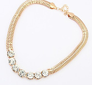 Cubic Zirconia Necklace Collar Necklaces Fine Jewelry for Female