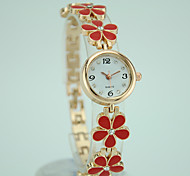 Women's European Style Fashion New Wild Flower Bracelet Watch Fashion Watch