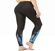 Corsa Pantaloni Per donna Compressione Corsa Sportivo