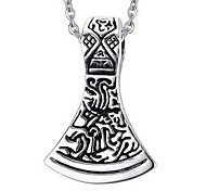 Men's Fashion Punk Style Steel Pendant for Necklace
