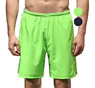 Vansydical Men's Quick Dry Fitness Bottoms Green / Black