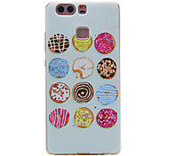 TPU Material Donuts Pattern Slim Phone Case for Huawei P9 Lite/P9