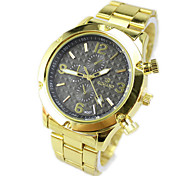 Men's Calendar Waterproof Steel Business Quartz Watch