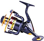 Carretes para pesca spinning 5.5/1 10 Rodamientos de bolas Intercambiable Pesca de baitcasting / Pesca en General-YB2000 Sougayilang