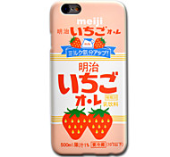 Для Кейс для iPhone 6 Кейс для iPhone 6 Plus С узором Кейс для Задняя крышка Кейс для Продукты питания Твердый PC для AppleiPhone 6s Plus