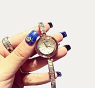 Women's Luxury Fashion Diamond Leather Quartz Watch