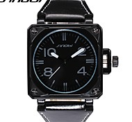 homem sinobi relógios esportes relógios de pulso de couro de quartzo moda relógios da marca masculina relógio relógio clássico legal
