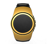 draagbare handsfree bluetooth speaker type kaart horloge