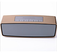 Automotive Supplies Golden Portable Bluetooth Speaker Card Mini Stereo Radio