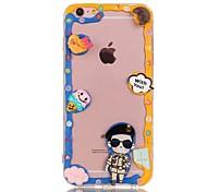 Cream Series B TPU+PC Back Case For Iphone6s/6/6s Plus/6 Plus