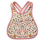 Cotton Cartoon Bib Cartoon Baby Boy Girl Newborn Kids Bibs Pure Cotton Saliva Towel(Flower)