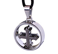 Ring Cross, Fashion And Personality Necklace Pendant - Cross Loops