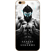 So Cool Ultra-thin Other TPU Soft League of Legends,So Cool Case Cover For  IPhone 5/6/6s/6plus/6s plus CFYX01