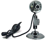 USB 2.0 HD Webcam 12M CMOS 1024x768 30FPS with Mic