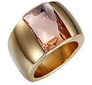 Классические кольца Циркон Цирконий 18K золото Кроссовер Мода Регулируется обожаемый Серебряный Золотой БижутерияСвадьба Для вечеринок