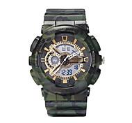 sanda homens relógio de forma g estilo à prova de água quartzo esporte relógios relógio digital de relogio dos homens de choque
